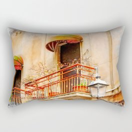 Trapani art 14 Sicily Rectangular Pillow