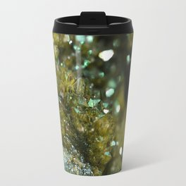 Geode Abstract Citrine Travel Mug