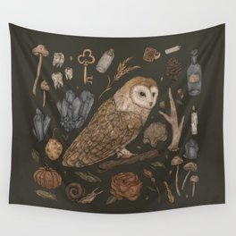 Harvest Owl Wall Tapestry
