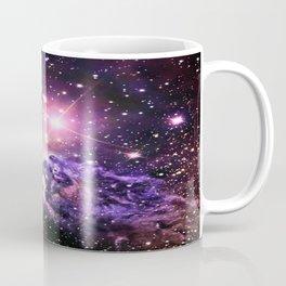 Fox Fur Nebula : Pink Purple Galaxy Coffee Mug