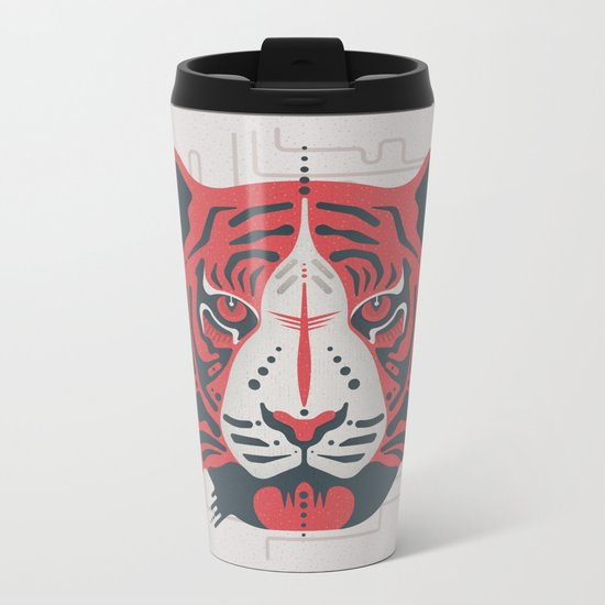Tiger Tiger Metal Travel Mug