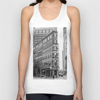 building Tank Tops featuring BUILDING by Stephanie Michelle