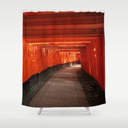 The Torri Gates of Fushimi Inari Taisha Shower Curtain