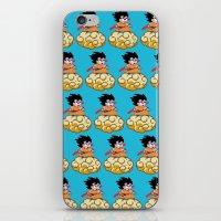 goku iPhone & iPod Skins featuring Son Goku by husavendaczek