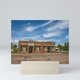 Valley Market, Golden Valley, North Dakota 1 Mini Art Print