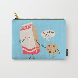 Cookie Loves Milk Carry-All Pouch