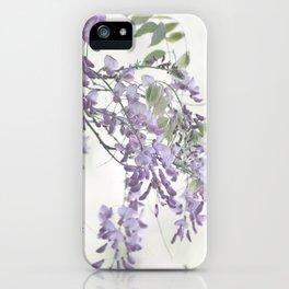 Wisteria Lavender iPhone Case