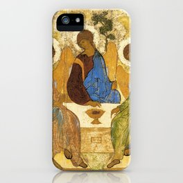 The Holy Trinity By Andrei Rublev iPhone Case