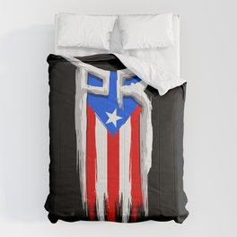 PR Flag - Puerto Rico Flag - Boricua Comforters