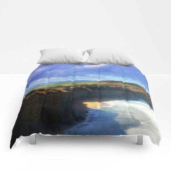 Southern Ocean Headlands Comforters