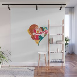 Romeo and Juliet Wall Mural