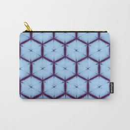large honey comb tonal Carry-All Pouch