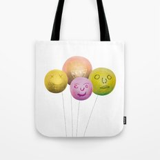 Happy Balloons Tote Bag
