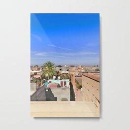 Marrakech Beauty Metal Print
