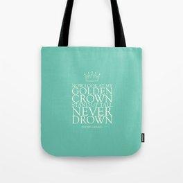 My Golden Crown Tote Bag