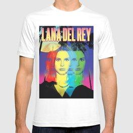 lana del ray rainbow 2021 T-shirt