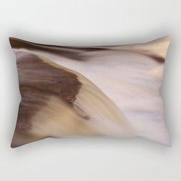 Swallow Falls Close-up Rectangular Pillow