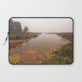 Misty Assateague Island Marsh Laptop Sleeve