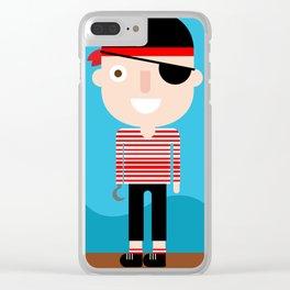 Pirate Clear iPhone Case