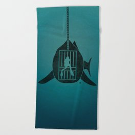 Steven Spielberg's JAWS Beach Towel