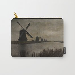Windmills at Kinderdijk Holland Carry-All Pouch