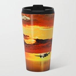 Lancaster at Sunset (Digital Art) Travel Mug