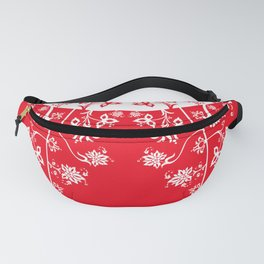 floral ornaments pattern wbp150 Fanny Pack
