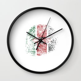 Kenya Flag Vintage Kenyan It's In My Dna Gift Wall Clock