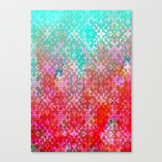 Blushing Tribal  Canvas Print