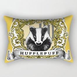 Hufflepuff Color Rectangular Pillow