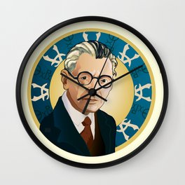 Kurt Gödel Wall Clock