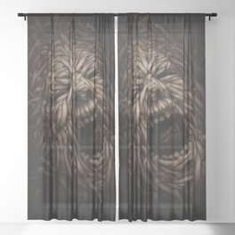 SOCIETY  Sheer Curtain