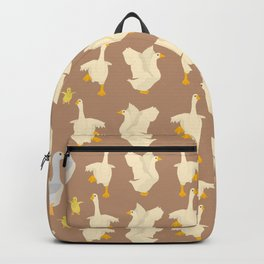 Ducks in a row Backpack