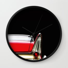 The Plymouth Fury Fin Detail Wall Clock