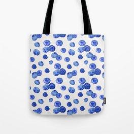 Indigo Blueberries Tote Bag