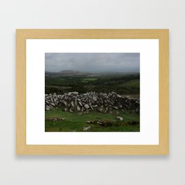The Irish Wild West (County Clare) Framed Art Print
