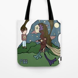 Dream A Little Dream Of Me Tote Bag