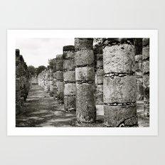 Mayan Ancients 3 Art Print