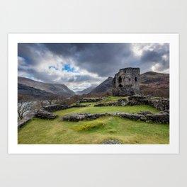 Dolbadarn Castle Snowdonia Art Print