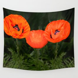 Oriental poppies Wall Tapestry