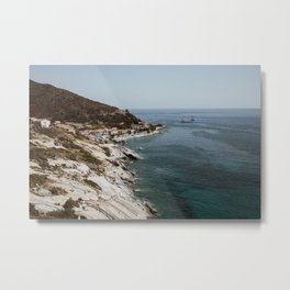 Travel photography - Coast Elba, Italy - horizontal Metal Print