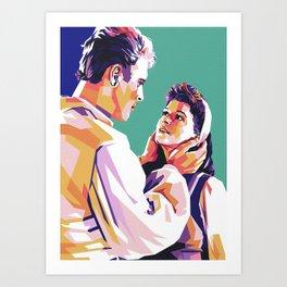 Burt Lancaster Art Print
