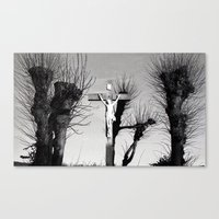 christ Canvas Prints featuring Christ  by Classy Boutique