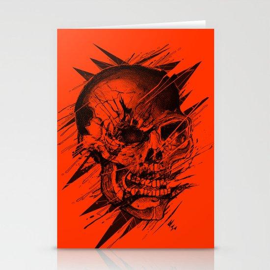 Skull's Not Dead Stationery Cards