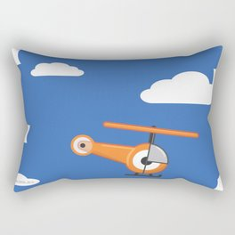 hel.eye.copter Rectangular Pillow