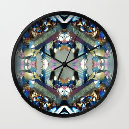 Mineral Composition 4 Wall Clock