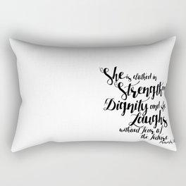She is ... Rectangular Pillow