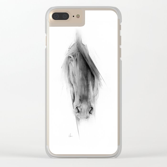 Horse 2023 Clear iPhone Case