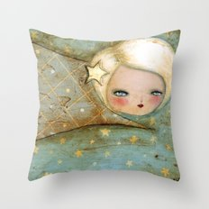 Lucy In The Sky With Diamonds Throw Pillow