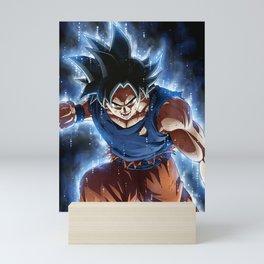 Super warrior z Mini Art Print